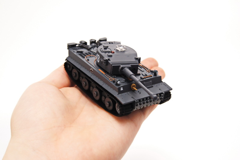 1/72 RC TANK SINGLE SET GERMAN TIGER I