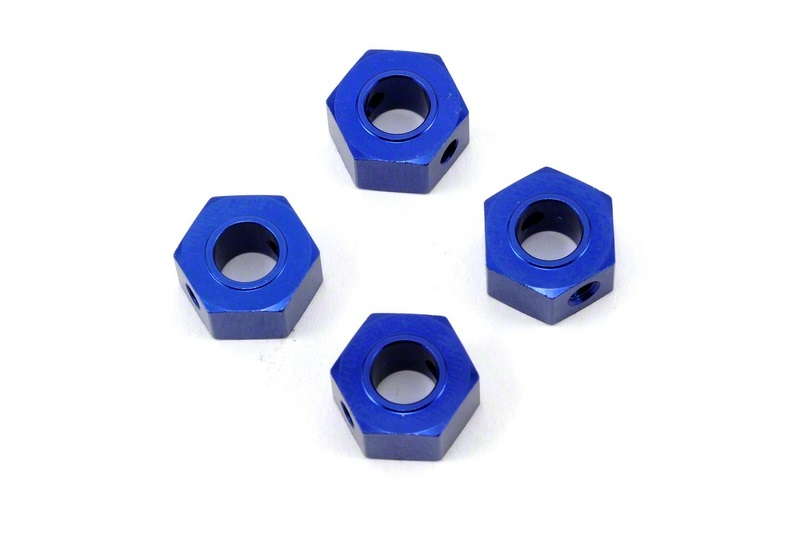 Traxxas Wheel Adapters 12mm Hex 6061-T6 Aluminum