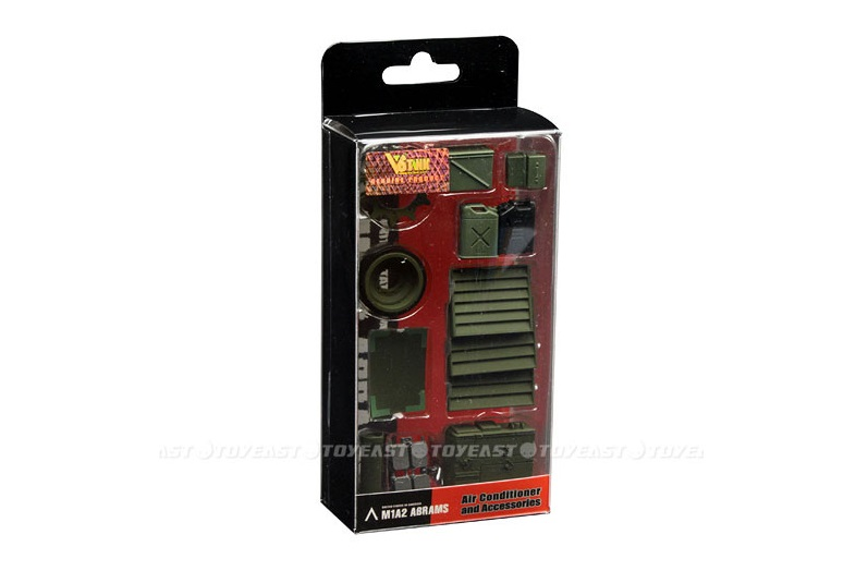 VSTANK PRO M1A2 ABRAMS RC TANK AIR CONDITIONER AND ACCESSORIES SET