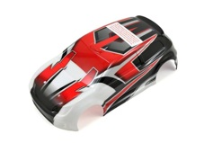 Traxxas Body LaTrax Rally Red Decals