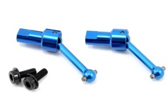 Traxxas Driveshaft Assembly Front/Rear 6061-T6 Aluminum
