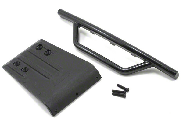 Slash Front Bumper & Skid Plate - Black