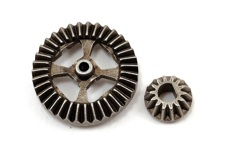 Ring gear, differential/ pinion gear, differential (metal)
