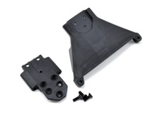 Front Bulkhead for the Slash LCG 4x4 - Black