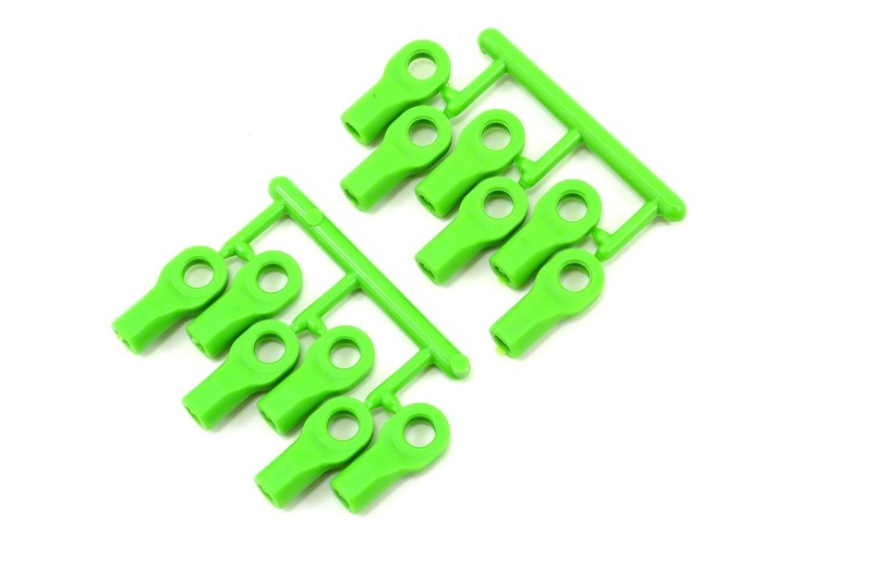 Traxxas Short Rod Ends - Green