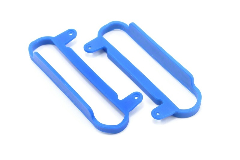 Blue Nerf Bars - Slash 2wd & 4x4