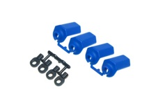 Traxxas & Durango Shock Shaft Guards - Blue