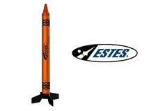 OUTER-SPACE ORANGE CRAYON ROCKET RTF