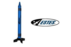 BLAST-OFF BLUE CRAYON ROCKET RTF
