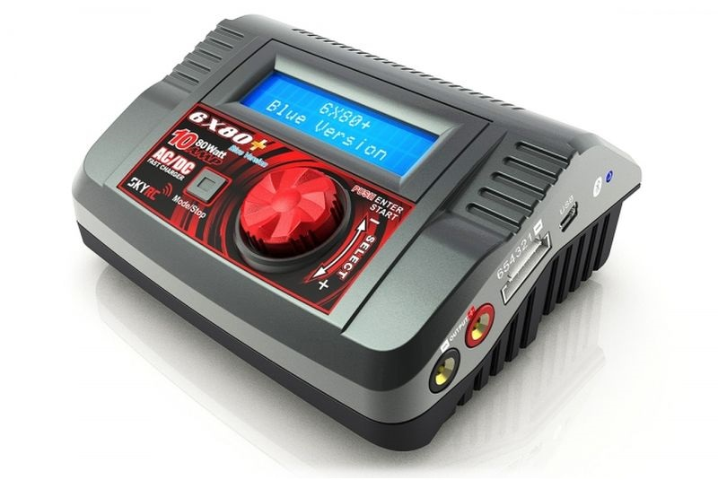 SkyRC 6x80+ AC/DC Charger with Bluetooth