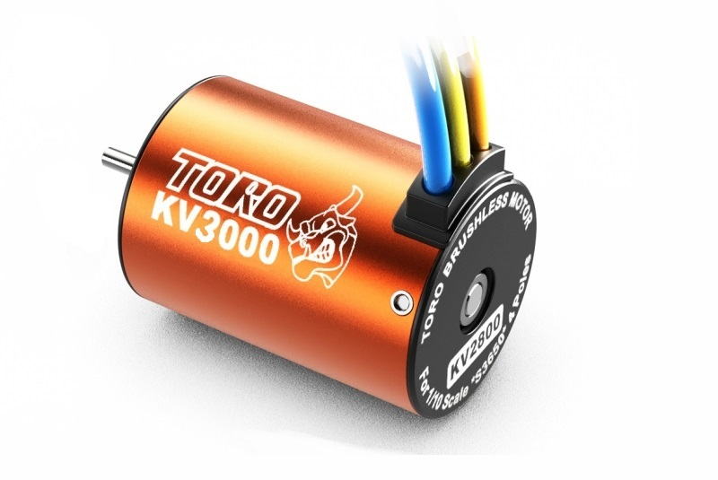 Toro 3000KV/4P BL Motor for 1/10 Car