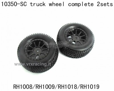 10350 SC truck wheel complete 2 sets