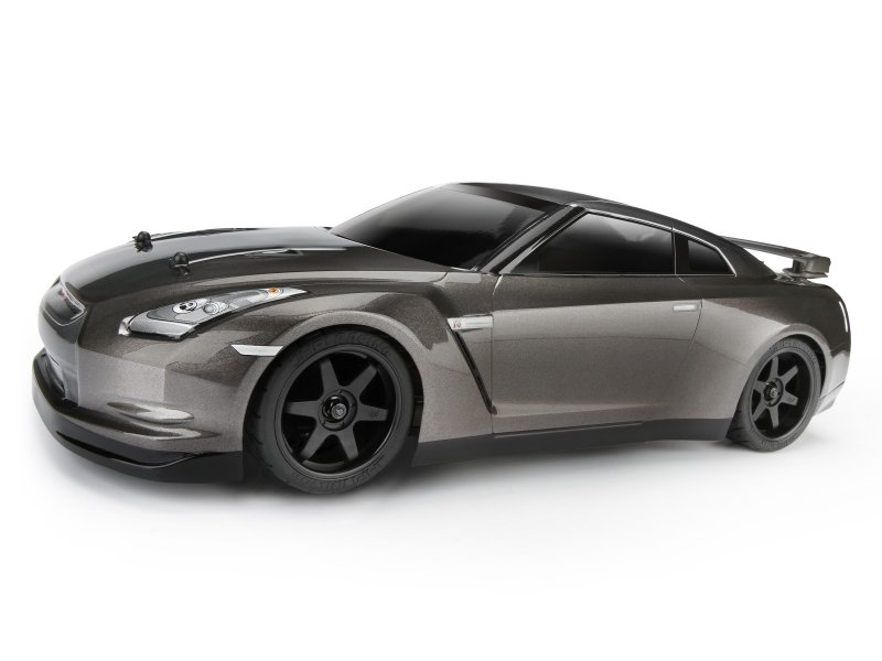 Кузов 1/10 - NISSAN GT-R (R35) (DARK METAL GRAY/200мм)