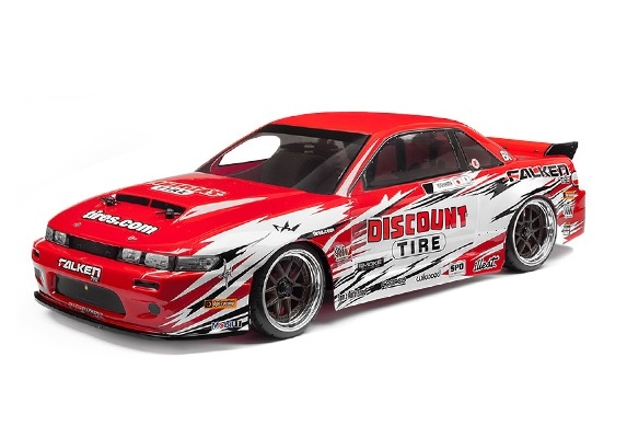 ������ 1/10 - NITRO 3 DRIFT DISCOUNT TIRE/NISSAN S-13 (NEW)