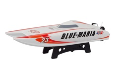 Модель катера Blue Mania 2.4G RTR brushed with 11.1V 1300mAh 35C LiPo & 3S balance charger