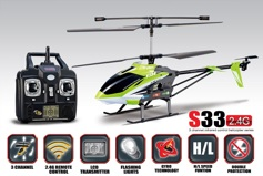 SYMA S33 3CH helicopter with GYRO