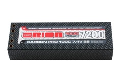 Carbon Pro Team Orion LiPo 7,4В(2s) 7200mAh 100C Hard Case Tubes