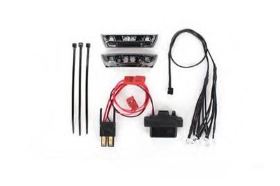 Complete LED Light Kit (Red) (2) (1/16 E-Revo)