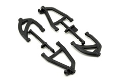 RPM Rear A-Arms Black 1/16 Scale
