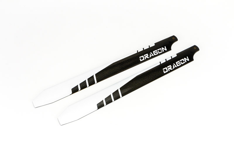 Dragon 360 carbon fire main rotor set/'Dragon 360