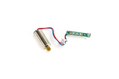 Corotating motor white light