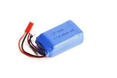 1000mAh 7.4V 2-cell 15C Li-Ion Battery