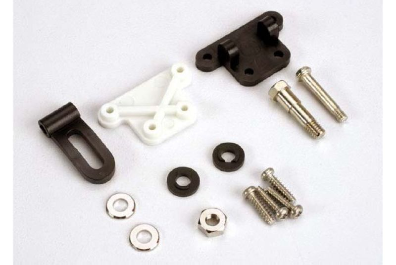 Trim adjustment bracket (inner)/trim adjustment bracket (outer)/trim adjustment lever/ 3x16mm should