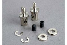 Servo rod connectors (2)/ 3mm set screws