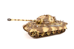 GERMAN KING TIGER (HENSCHEL TURRET) BROWN CAMOUFLAGE (INFRARED)