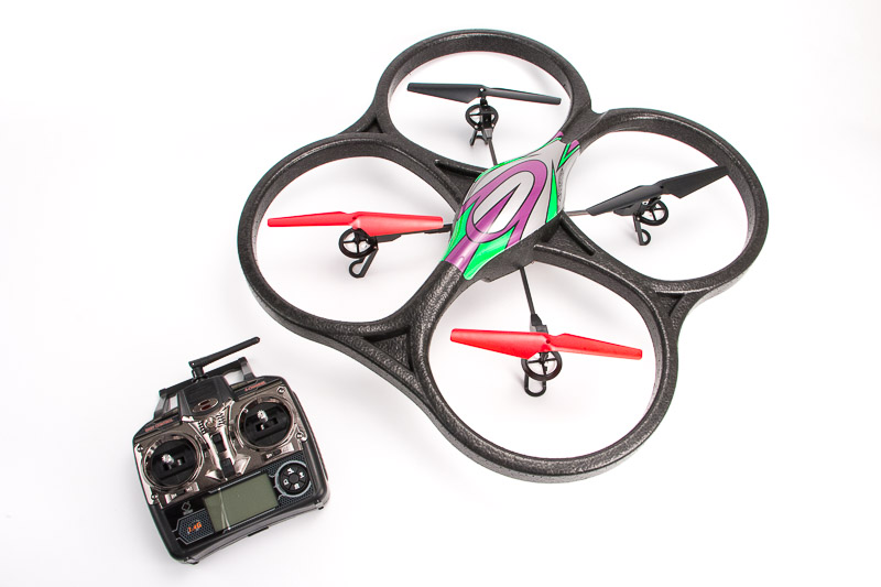 Квадрокоптер  WLTOYS V656 Quadcopter (Full HD 1080 Camera, Headless Mode)