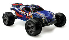 TRAXXAS Rustler XL-5 2WD RTR электро Трагги 1:10 (б/к система) TQ 2.4Ghz (влагозащита) +New Charger