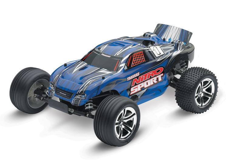 TRAXXAS Nitro Sport 2WD RTR ��� (����������) ������ 1:10 TQ 2.4GHz + NEW Fast Charger