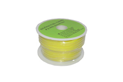 SILICONE FUEL TUBING 2.4X5.2mmX1M (YELLOW)