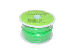 SILICONE FUEL TUBING 2.4X5.2mmX15M (GREEN)
