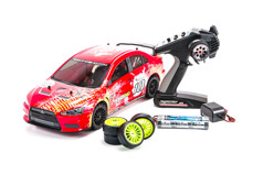 Kyosho EP Fazer Ve-X 4WD RTR ������� ������ 1:10 (Lancer Evolution X KX4) �/� 2.4GHz �����������  ������ � �������