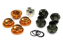 24mm Hex Wheel (4) Hub +6mm Offset for Traxxas T-Maxx & Revo