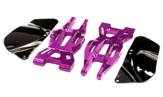 Billet Machined Front Lower Suspension Arm for HPI 1 /10 Bullet MT & Bullet ST