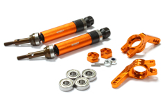 Heavy-Duty 6mm Wheel Axle Conversion for 1/10 Stampede 2WD, Rustler 2WD & Monster Jam