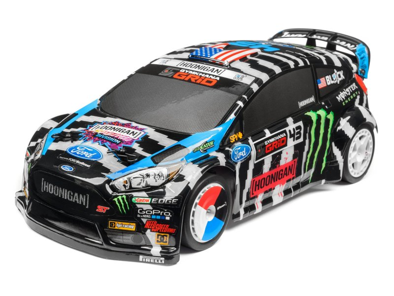 KEN BLOCK 2014 FORD FIESTA PAINTED BODY (140MM)