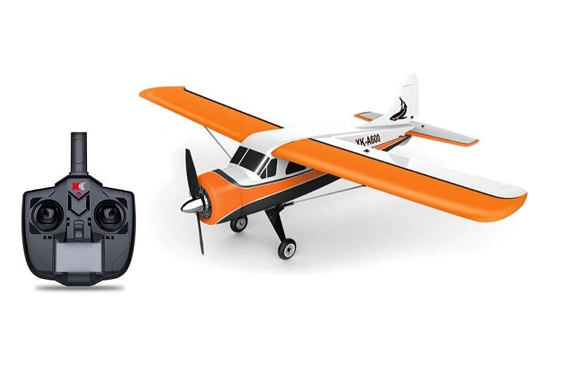 ГОТОВЫЙ К ПОЛЕТУ РАДИОУПРАВЛЯЕМЫЙ САМОЛЕТ XK-INNOVATIONA600 (DHC-2 BEAVER) 3D AIRPLANE WITH AUTOPILOT