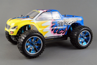 Радиоуправляемая модель 1/10th Scale Electric Powered Off Road Monster Truck