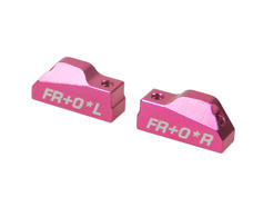 2 Piece Suspension Mount FR-0 For 3racing Sakura XI