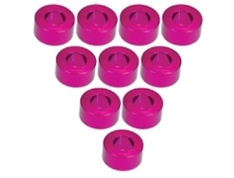 Aluminium M3 Flat Washer 3.0mm (10 Pcs) - Pink