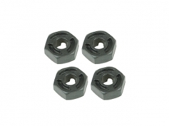 Hex Adaptor (5mm Thick) - 4pcs For Sakura D3
