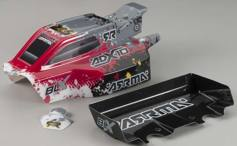 Корпус ARRMA ADX-10 2013 Grunge and Wing (красный)