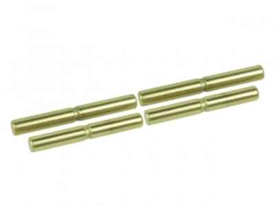 Suspension Outer Titanium Coated Pin Set For 3racing Sakura Zero