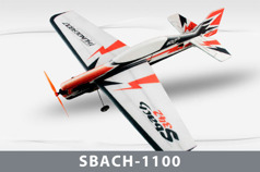Самолет Techone SBACH 342-1100 EPP KIT размах 1100 мм