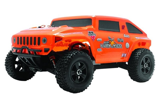 Himoto Hammer 4WD 2.4Ghz Радиоуправляемый монстр 1:18 Himoto Hammer 4WD 2.4GHz RTR