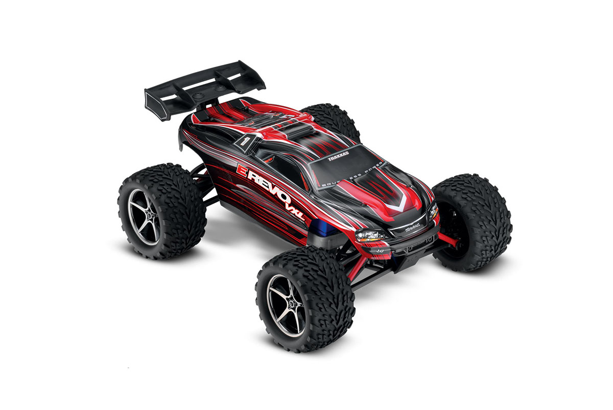���������������� ������ � ����������������� TRAXXAS	E-Revo VXL 4WD 1/16 RTR TQ � �������� ������������ + NEW Fast Charger