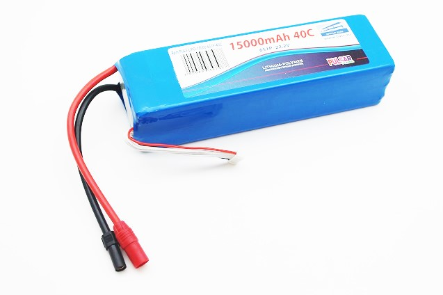Pulsar Li-pol 22.2V 15000mAh, 40C, 6s1p, AS150 ����������� Pulsar Li-pol 15000mAh, 40c, 6s, AS150